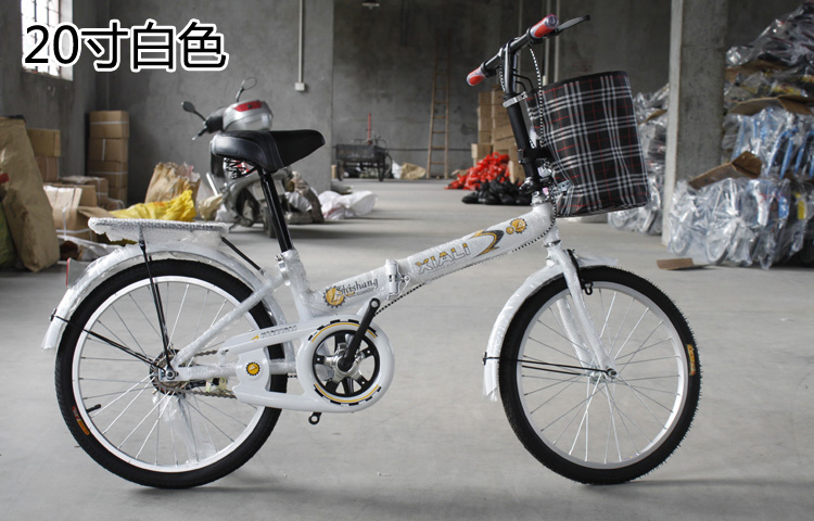 """2014 top fasion special offer 20"""" army green sky blue chocolate orange pink folding bike 16 20 bicycle gentlewomen car student(China (Mainland))"""
