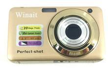 2017 newest 20 MP camera with 2.7'' TFT display and 8x optical zoom digital camera free shipping(China (Mainland))