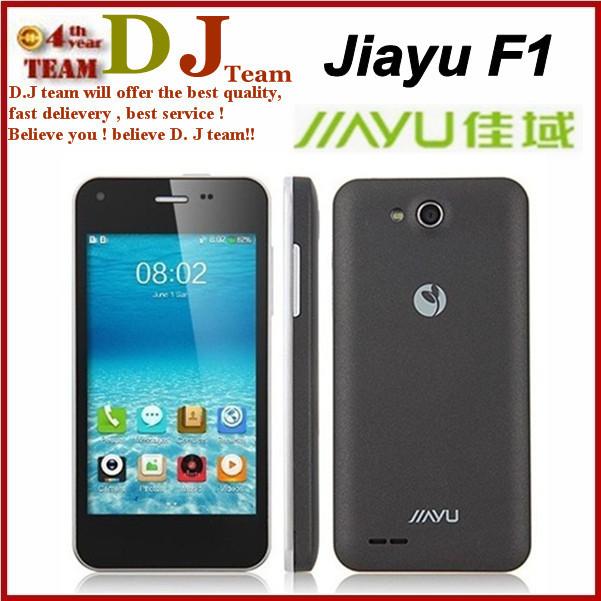 "Original jiayu F1 phone 4.0"" black and white colors smartphone MT6572 duad core 1.3Ghz WIFI 512MB+4GB Russian(China (Mainland))"