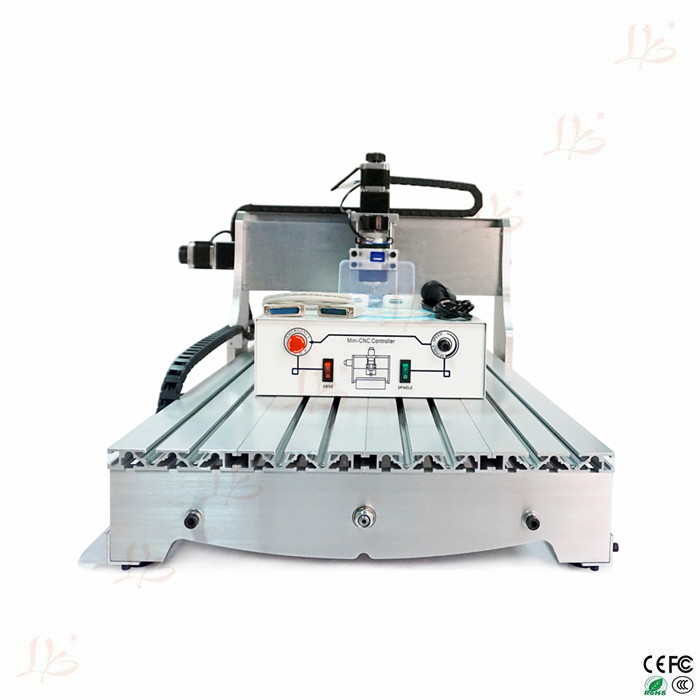 new product cnc machine 6040Z-D300 3axis with ball screw 300W spindle motor(China (Mainland))