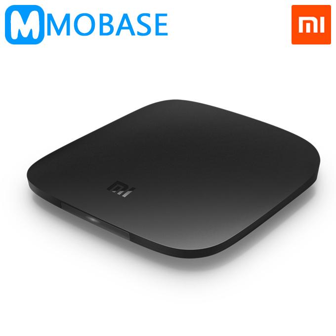 Original Xiaomi Mi Box Enhanced 3rd Generation Android TV Box Amlogic S812 Quad Core 1G/4G H.265 4K 802.11ac 2.4G/5GHz Dual WiFi(China (Mainland))