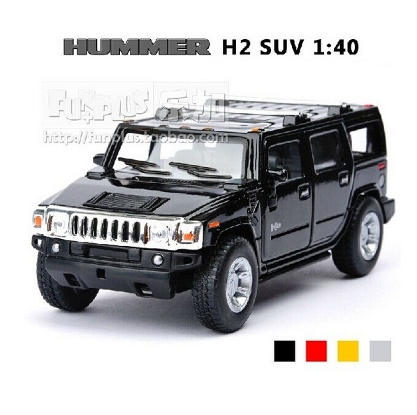 High Simulation Exquisite Collection Baby Toys: KiNSMART Car Styling Hummer H2 SUV Model 1:40 Alloy Car Model Excellent Gifts(China (Mainland))