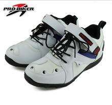 Free shipping PRO-BIKER motorcycle racing boots knight riding boots drop resistance protective wear and racing shoes boots A006(China (Mainland))