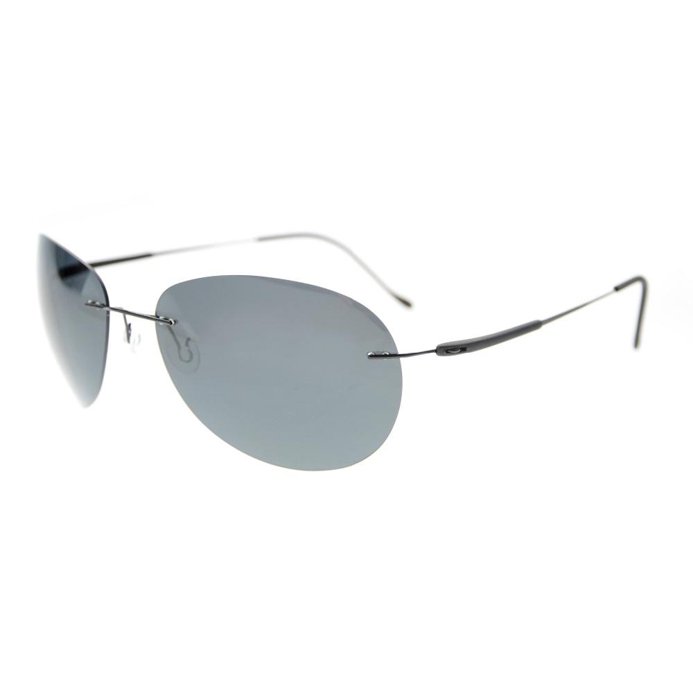 Rimless Polarized Sunglasses : S1606 Eyekepper Rimless Lens Titanium Polarized Sunglasses ...