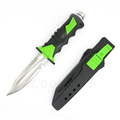 Diving Diver s Knife 58HRC 440C Blade Outdoor Survival Straight Knives Hunting Camping Tools Rubber Handle