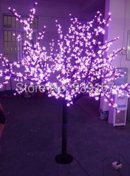 2016 LED cherry tree light,pink LED with 1.5M 480leds cherry flowers led christmas tree light free shipping(China (Mainland))