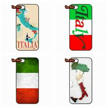 Lenovo Lemon A2010 A6000 S850 A708T A7000 A7010 K3 K4 K5 Note Italy Flag IT Eagle Map Plastic Black Cover Case - The End Phone Cases store