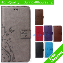 Pattern Leather Phone Case For Samsung Galaxy S4 Mini i9190 TPU Back Cover Flip Shell Stand Wallet Bag Card Holder(China (Mainland))
