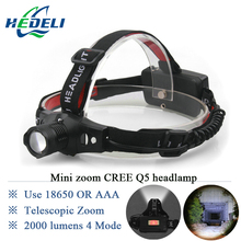 Buy 2016 Various Lights New Outdoor Mining Cree Q5 Lamp LED Headlamp 18650 Zoomable Miner Lantern Head Torch Headlight Flashlight for $6.66 in AliExpress store