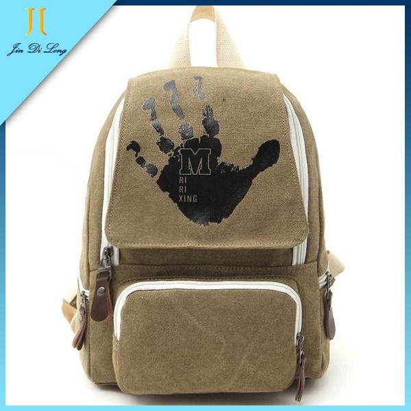 New Japanes Design Canvas Women Travel Hiking Bag  Ladies Backpack  School Bags Packsack Daypacks Rucksack Mochila<br><br>Aliexpress
