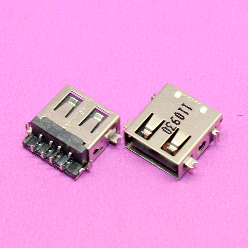 100% New notebook PC laptop 2.0 female USB jack USB Port plug connector , 110930.(China (Mainland))