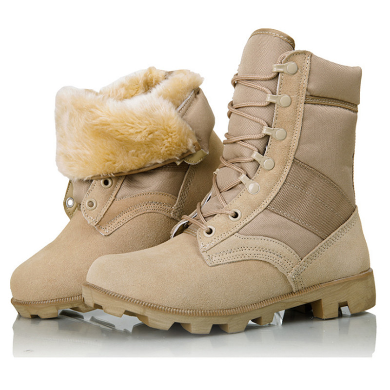 Mens Delta Tactical Boots Fur Military Desert SWAT American Combat Outdoor Boots Shoes Breathable Wearable Hiking Shoes Winter<br><br>Aliexpress