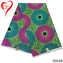 Buy KK ankara african wax print fabric tissu wax africain 6yards nigerian patchwork fabrics 100% Polyester XDL46-69 for $34.03 in AliExpress store