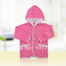 LeJin Baby Girl Clothing,Baby Girls Outerwear,Hoodies,Girl's Sweatshirt,Jacket,Autumn,Cotton Knitted(China (Mainland))