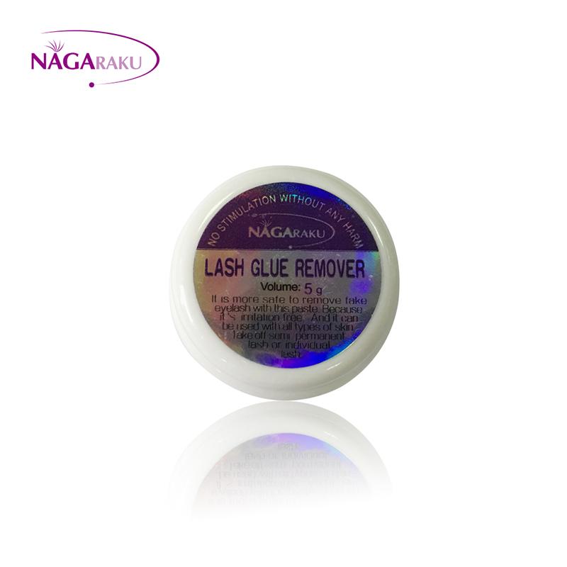 NAGARAKU 5g Fast and Safe eyelash glue remover,eyelash extension glue remover