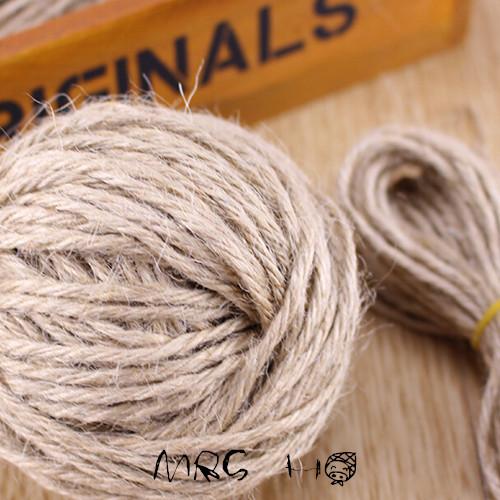 80Meters Diy Handmade Jude Hemp Rope Wholesale Gift Decorative 1mm Packaging Rope(China (Mainland))
