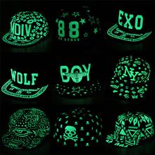 Adjustable Graffiti Baseball Cap Hip Hop Fluorescent Snapback Caps Men Casquette Women Boy Hat Girl Snap Back(China (Mainland))