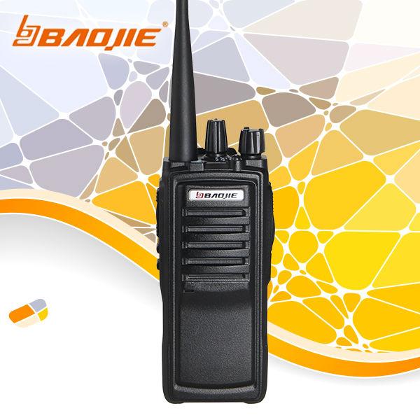 uhf radio BAOJIE BJ-E33 walky talky 8W talke range 20km(China (Mainland))
