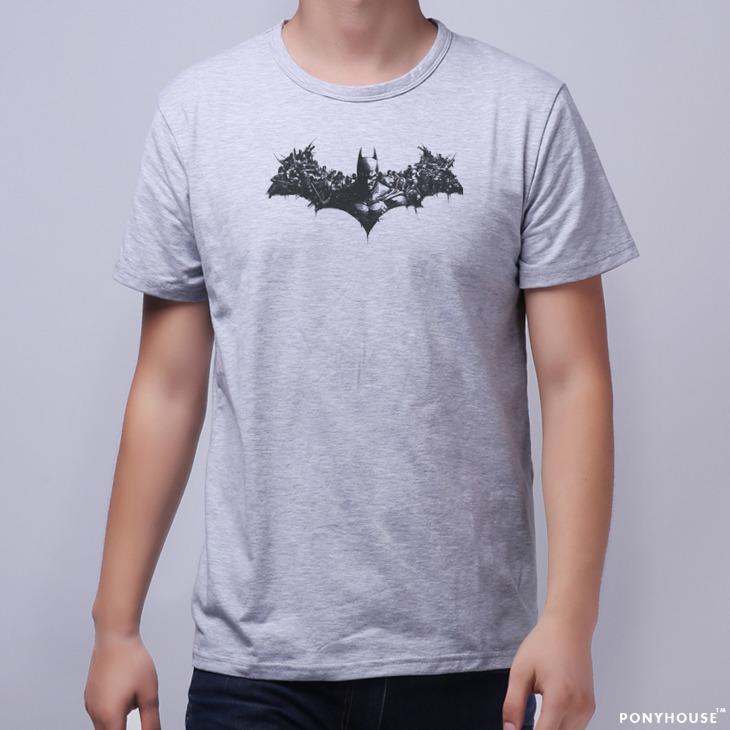 Гаджет  2015J YHM DHM ICB KKA GLB BATMAN ARKHAM male Batman T-shirt short sleeve None Изготовление под заказ