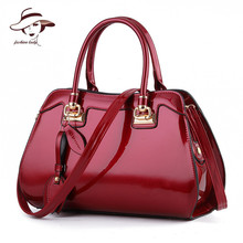 Buy 2017 New Women Bag Famous Designer Brand Ladies Patent Leather Handbags Luxury Shoulder Messenger Bags Bolsa Tote Bags Feminina for $23.80 in AliExpress store