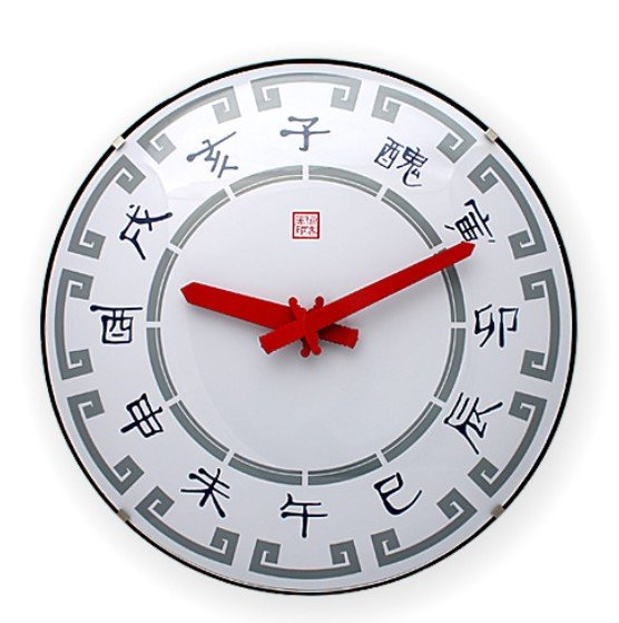 wall clock,Quartz clock,Chinese classic design,concise,Creative idea for geek,white+red+gray,Rock+traditional,PVC+sphere glass(China (Mainland))