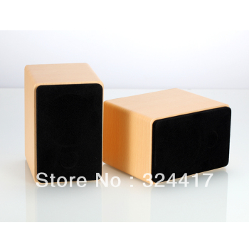 Woodiness 2.0 multimedia laptop small speaker usb mini speaker subwoofer multimedia speakers
