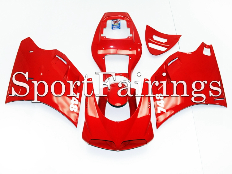 Full Fairings Fit DUCATI 996 748 916 998 Year 96 - 02 1996 1998 2000 2001 2002 ABS Motorcycle Fairing Kit Bodywork Glossy Red(China (Mainland))