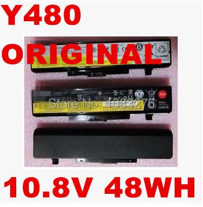 original LAPTOP battery 10.8V 48WH FOR LENOVO IdeaPad Y480 Y580 V480 V580 Edge E430 E435 E530 E535 L11S6Y01 45N1048 45N1049<br><br>Aliexpress