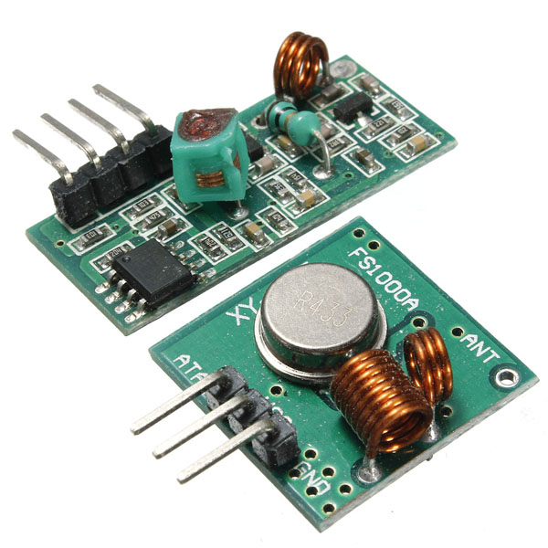 Hot Sale 433Mhz Receiver Module MX-05 & WL RF Transmitter MX-FS-03 For Arduino Wireless New Circuit Board Modules(China (Mainland))