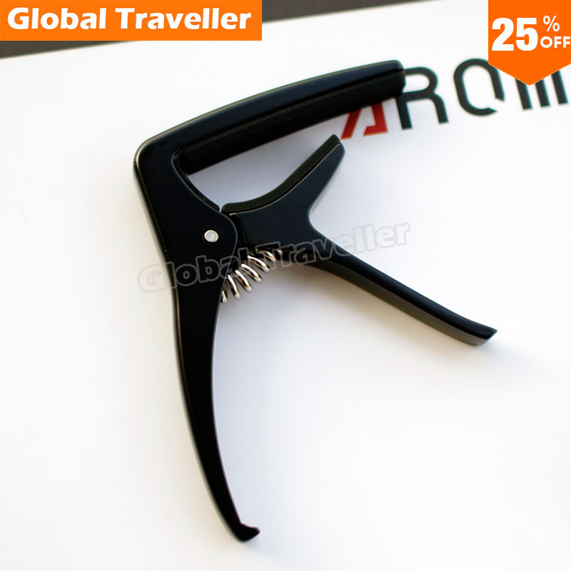 1 piece Popular style AROMA AC-21 Metal Guitar Capo for Folk/Acoustic/Classical Guitar, make beautiful music(Bhutan)