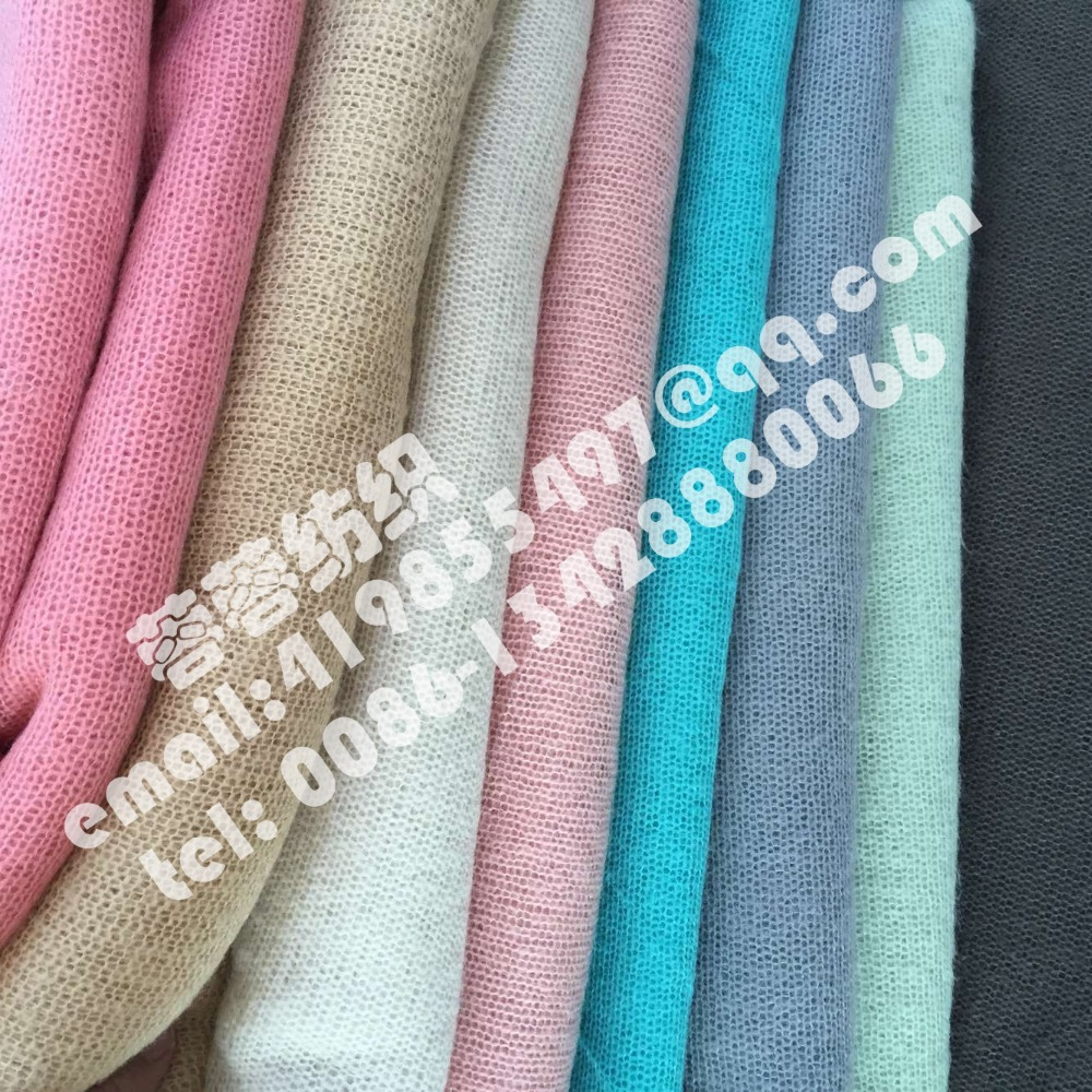 High quality woollen stretch knit fabric thin and soft for Wholesale baby fabric