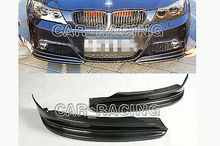 Buy Carbon Fiber Front Splitter Aprons Fit BMW 3S E90 Convertible M-Tech Bumper 2009-2011 Car Styling for $115.90 in AliExpress store