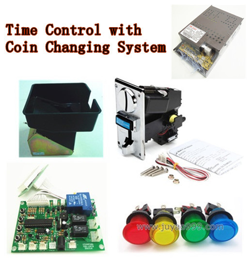 JY-14 coin operated Time Control Timer Board Power Supply with coin changing system, coin acceptor, buttons, and coin hopper<br><br>Aliexpress