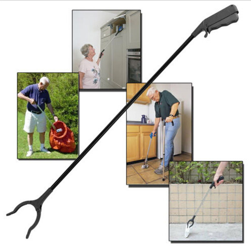 Top Sale Litter Pick Up Extra Long Arm 54cm Extension Tool Grabber Easy High Reach Picker(China (Mainland))