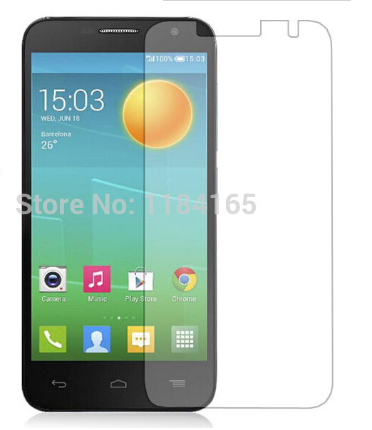 3pcs/lot Transparent Clear LCD Screen Protector For Alcatel One Touch idol 2 mini 6016 Protective Film(China (Mainland))