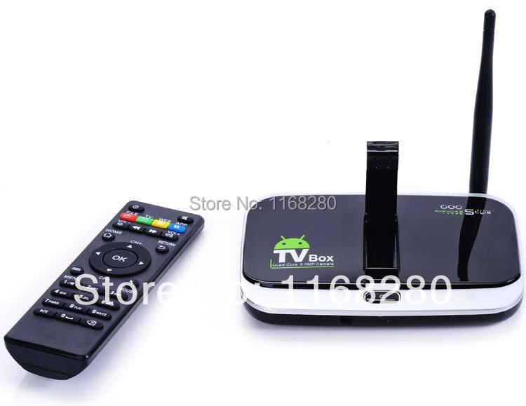 LS 40pcs CS918S Android OTT TV Box Quad Core 2GB 16GB Mini PC Video Conference Jellybean HDMI 2160P HTML5 4K With Camera Mic IR(China (Mainland))