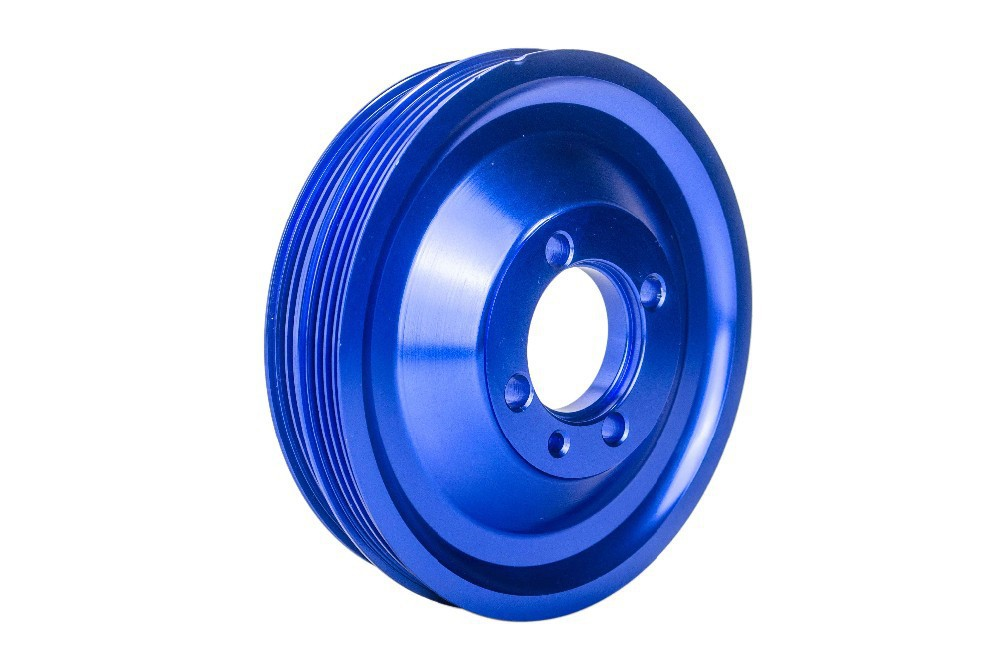 WLR STORE CRANK PULLEY FOR EVO 1 2 3 4G63 CRANK PULLEY HIGH PERFORMANCE LIGHT WEIGHT