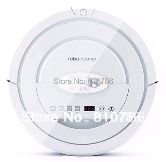 2015 Top Selling 100% Good Feedback White Color Robotic vacuum cleaner QQ5,new design,long working time,patent sonic wall(China (Mainland))