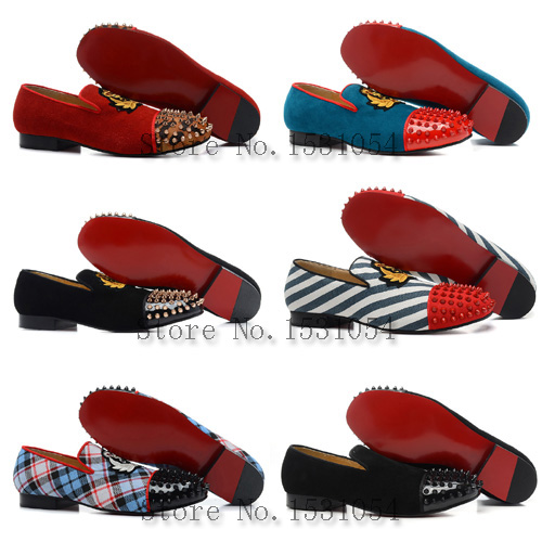 Popular Red Bottom Shoes for Men-Buy Cheap Red Bottom Shoes for ...