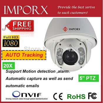 HD Module Outdoor 960P 1.3MP HD Megapixel IP IR High Speed Dome PTZ Camera with H.264 Onvif 2.0 +Auto Tracking+OSD<br><br>Aliexpress