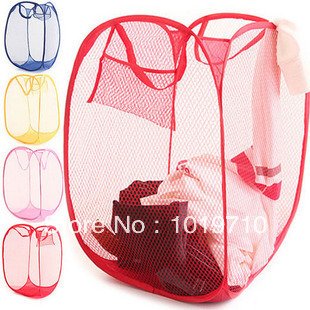 Blue laundry basket Storage Basket Laundry Queen put dirty clothes basket 100g Color Network