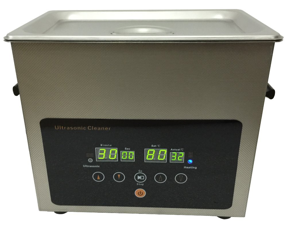 Ultrasonic cleaner stainless steel made full digital control for timer and heating 3L size(Hong Kong)