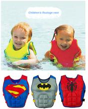2-6Y Child Swim Vest Baby Swim Trainer Fishing Life Vest Ring Boy Girl Float Swimsuit Inflatable Donut Pool Piscine Accessories