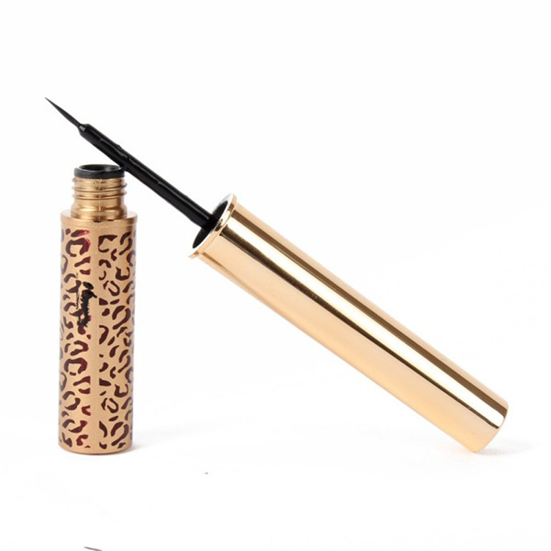 Luxury Nude Makeup Waterproof Leopard Ultrafine Eyeliner Liquid Eye Liner Pen