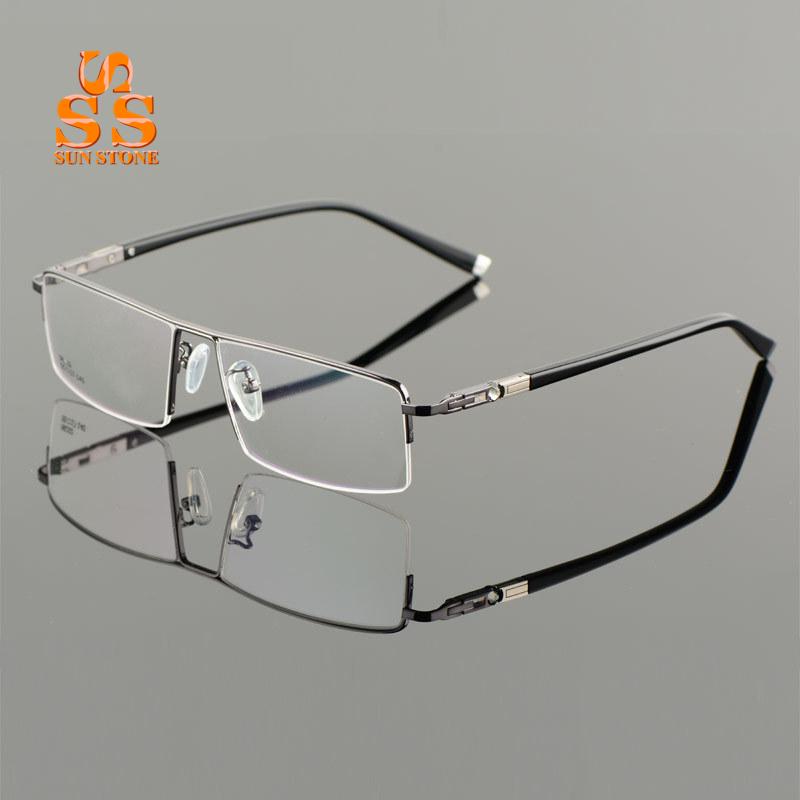 High Quality Mens Flexible Titanium Alloy Optical Glasses ...