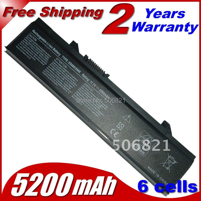 Replacement Laptop Battery For Dell Latitude E5400 E5410 E5500 E5510 KM769 KM742 451-10616 312-0769 312-0762 4400mah 6 cells(China (Mainland))