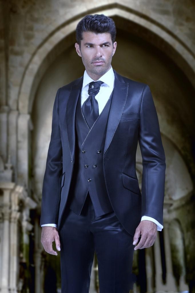 Popular Shiny Suit Navy Blue-Buy Cheap Shiny Suit Navy Blue lots