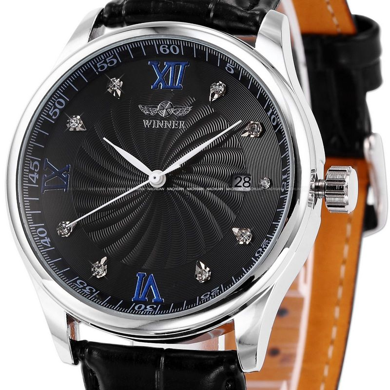 Winner of the trend 2015 automatic mechanical watch mens watch personality strap jwc0014 15