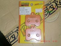RRGS 4 pot brake caliper replicement brake pads