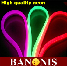 High quality IP65 softness neon, 5m LED Neon Flex, flexible light strip, 80 LEDs/m,waterproof outdoor landscape decoration(China (Mainland))